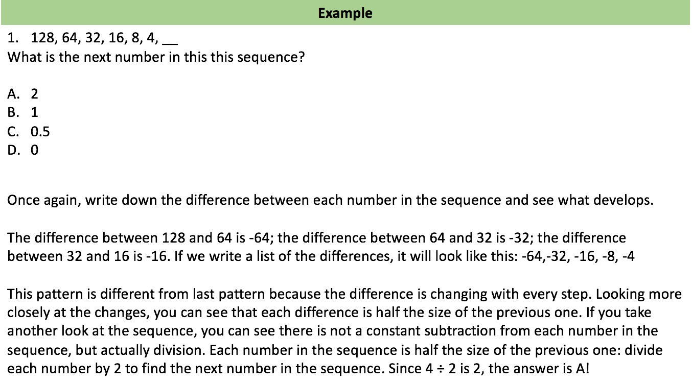 sequences example 2
